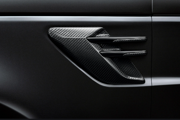 Genuine Range Rover Sport 14> Carbon Fibre Side Vents
